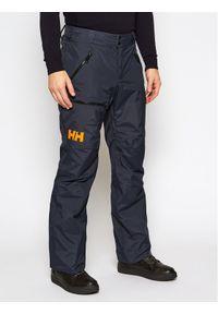 Szare spodnie sportowe Helly Hansen narciarskie