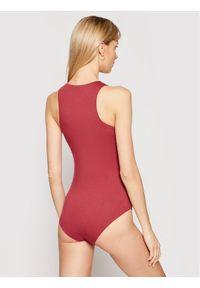 Emporio Armani Underwear Body 164424 1P223 05573 Bordowy. Kolor: czerwony