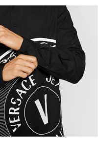 Versace Jeans Couture Koszula Print V-Emblem 71GAL2R4 Czarny Regular Fit. Kolor: czarny. Wzór: nadruk