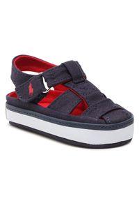 Niebieskie sandały Polo Ralph Lauren