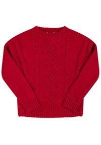 Mayoral Sweter 4302 Czerwony Regular Fit. Kolor: czerwony