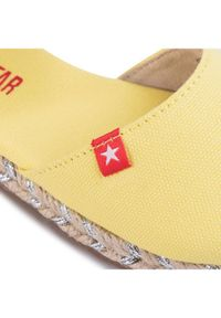 Big-Star - BIG STAR Espadryle FF374190 Żółty. Kolor: żółty