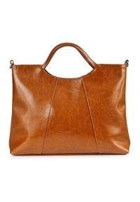 Brązowa torebka DAN-A elegancka
