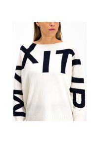 Biały sweter MAX&Co.
