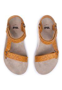 Brązowe sandały Teva casualowe, na co dzień
