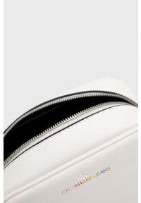 Calvin Klein Jeans - Torebka. Kolor: biały