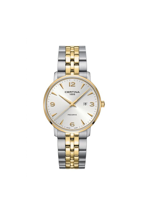Złoty zegarek CERTINA elegancki