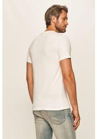 Biały t-shirt Levi's® z okrągłym kołnierzem, z aplikacjami, biznesowy #5