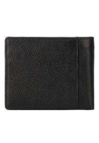 Wittchen - Męski portfel skórzany z dwoma suwakami. Kolor: brązowy. Materiał: skóra