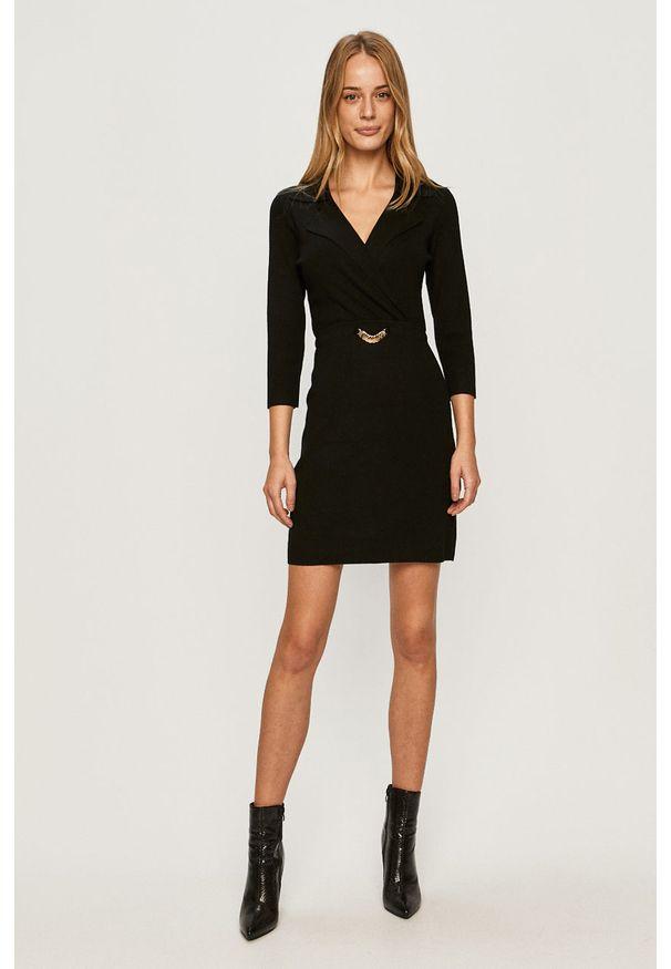 Czarna sukienka Morgan casualowa, mini