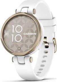 GARMIN - Zegarek sportowy Garmin Lily Sport Biały (010-02384-10). Kolor: biały. Styl: sportowy