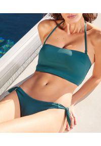Holly Opaska Bez Fiszbin, Góra Kostiumu Kąpielowego - 44 - Zielony - Etam. Kolor: zielony. Materiał: poliamid, tkanina. Wzór: aplikacja