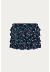 Niebieska spódniczka Name it w kwiaty