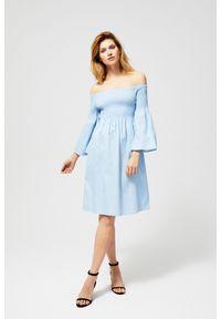 MOODO - Sukienka z szerokimi rękawami