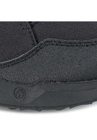 Czarne buty trekkingowe Icebug z cholewką, trekkingowe