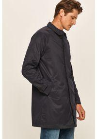 Niebieski płaszcz Only & Sons bez kaptura, casualowy