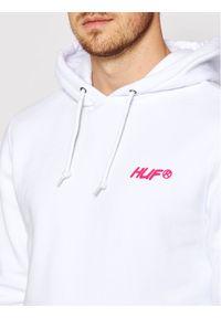 HUF Bluza I Feels Good PF00363 Biały Regular Fit. Kolor: biały