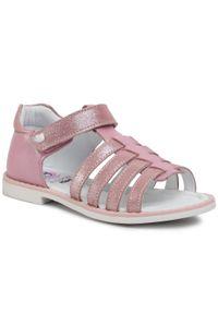 Różowe sandały Lasocki Kids