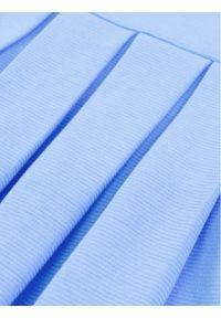 Niebieska sukienka Polo Ralph Lauren prosta, casualowa