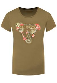 Zielony t-shirt Guess #5
