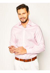 Różowa koszula casual Pierre Cardin