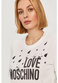 Biała sukienka Love Moschino mini, na co dzień, casualowa