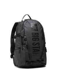 Big-Star - Plecak BIG STAR - HH574180 Black. Kolor: czarny. Materiał: skóra, materiał