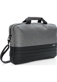 Szara torba na laptopa Upominkarnia