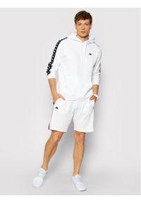 Kappa Bluza Igon 309043 Biały Regular Fit. Kolor: biały