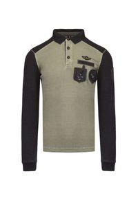 Koszulka polo Aeronautica Militare z aplikacjami, polo, militarna