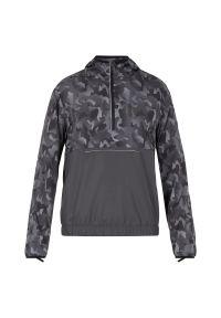 Bluza męska do biegania Pro Touch Bento 302208. Typ kołnierza: kaptur. Materiał: poliester, materiał. Długość: krótkie. Wzór: gładki