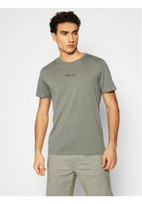 Jack&Jones PREMIUM T-Shirt Blaster 12191687 Zielony Regular Fit. Kolor: zielony