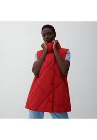 Reserved - Pikowana kamizelka - Czerwony. Kolor: czerwony