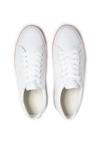 Sneakersy GANT - Seaville 22531585 White G29. Okazja: na co dzień. Kolor: biały. Materiał: skóra. Szerokość cholewki: normalna. Sezon: lato. Styl: elegancki, sportowy, casual