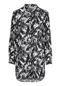 Cellbes Miła długa koszula we wzory female ze wzorem 58/60. Długość rękawa: długi rękaw. Długość: długie