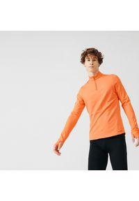 KALENJI - Bluza do biegania męska Kalenji Run Warm ocieplana. Materiał: poliester, materiał, elastan. Sport: bieganie