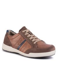 Brązowe sneakersy Imac