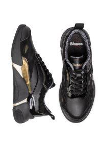 Czarne buty sportowe Blauer