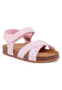 Różowe sandały Sergio Bardi Young na lato