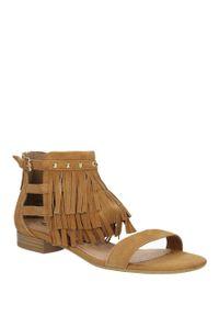 Brązowe sandały Tamaris klasyczne, na lato