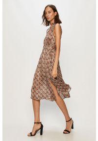 Wielokolorowa sukienka Morgan bez rękawów, casualowa, midi