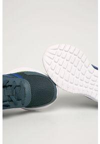Szare buty sportowe Adidas z cholewką, na sznurówki
