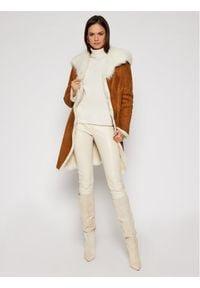 Brązowy płaszcz zimowy Ugg