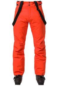Rossignol - ROSSIGNOL Spodnie narciarskie męskie SKI Orange. Sport: narciarstwo
