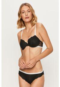 Czarny biustonosz Calvin Klein Underwear z wyjmowanymi miseczkami