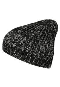 Czarna czapka Pako Jeans sportowa, na zimę