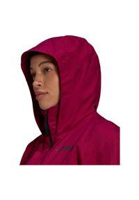 Adidas - Kurtka turystyczna damska adidas Terrex Multi RAIN.RDY GI7130. Materiał: tkanina, poliester, materiał. Wzór: ze splotem