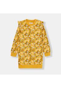Żółta sukienka Sinsay