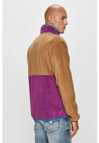 Wielokolorowa bluza rozpinana columbia casualowa, na co dzień, bez kaptura
