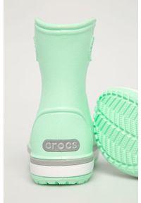 Zielone kalosze Crocs